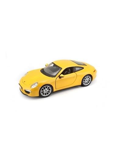 Sunman Sunman 21065 Burago 1:24 Porsche 911 Carrera S Model Oyuncak Araba Renkli